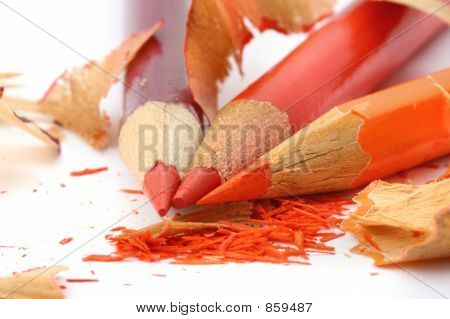 sharpening colored pencils 3
