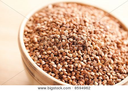 Buckwheat In Bowl