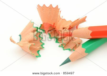 sharpening colored pencils 5