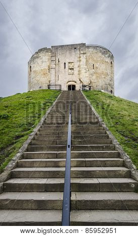 Clifford's Tower, York, Uk