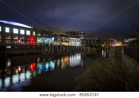 River Ouse At Night