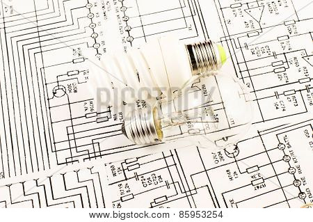 Fluorescent Lamp And Lamp Incandescence