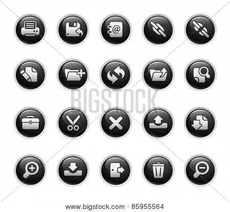 Vector Web Icons