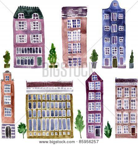 set of city objects