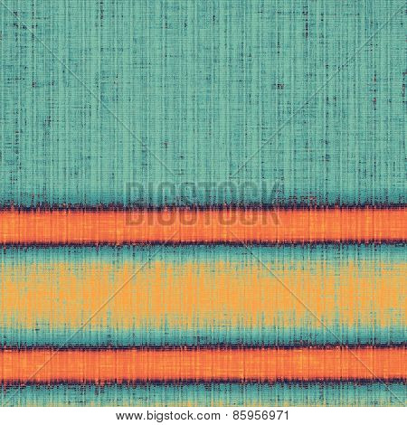 Colorful designed grunge background. With different color patterns: yellow (beige); blue; cyan