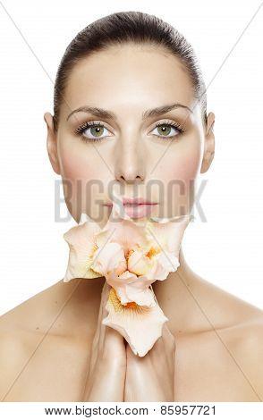 Woman With Iris