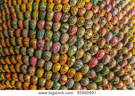 Many Easter Eggs In  Different Designs