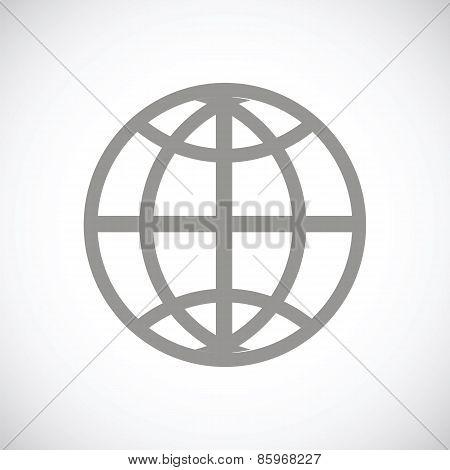 World black icon
