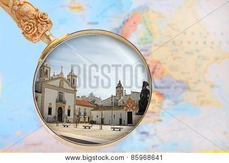 Looking In On Lagos, Algarve