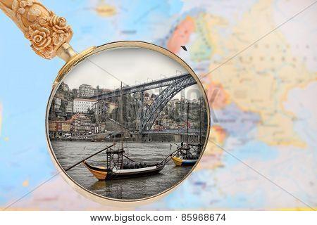 Looking In On Porto, Portuga