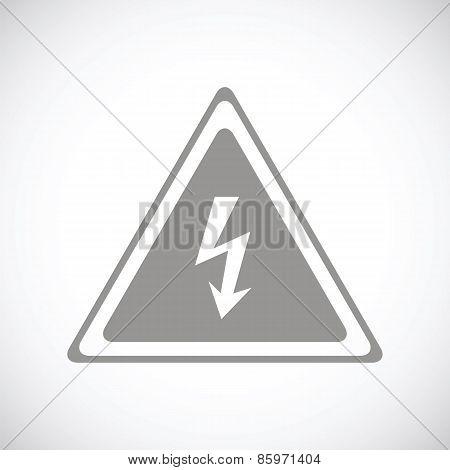 Voltage black icon