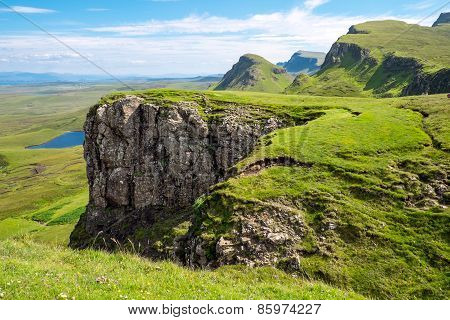 The Trotternish Ridge in Scotland