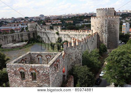 Landscape Of Yedikule Fortress