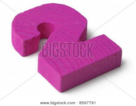 Violet Wooden Toy Figure Two
