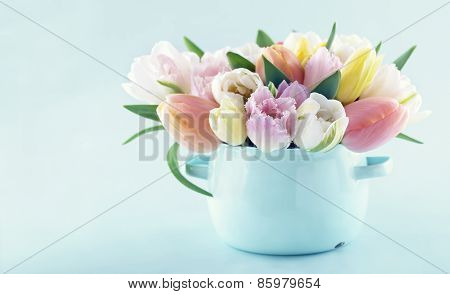 Bouquet Of Spring Tulips 1