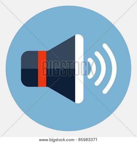 Vector speaker icon