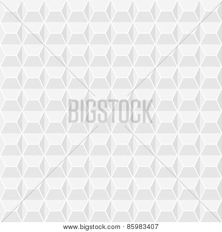 Gray pattern from different geometric shapes, square, triangle, can be used as fabric texture. Vecto