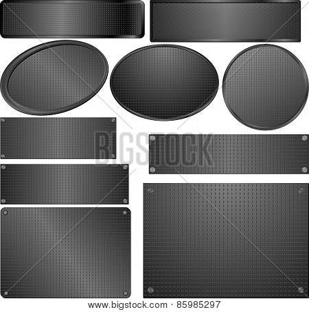Black Plaques