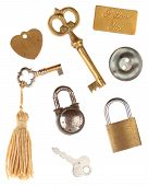 stock photo of tassels  - Keys - JPG