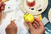picture of wax  - Easter painting - JPG