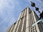 stock photo of broadway  - The building on Broadway in Manhattan  - JPG