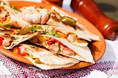 picture of tacos  - chicken tacos - JPG