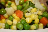 Cooked Mixed Vegetables poster