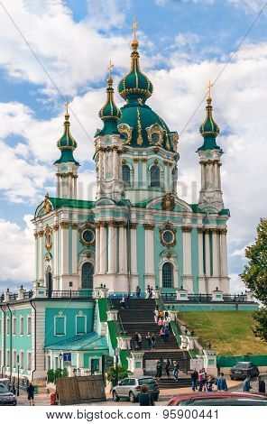 St Andrew's Church, Kiev