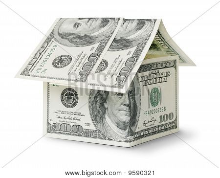 Dollar In Shape House