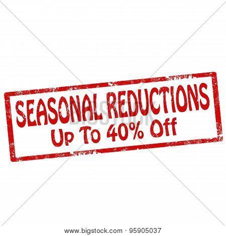 Seasonal Reductions
