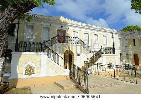 Legislature Building of U.S. Virgin Islands, Charlotte Amalie