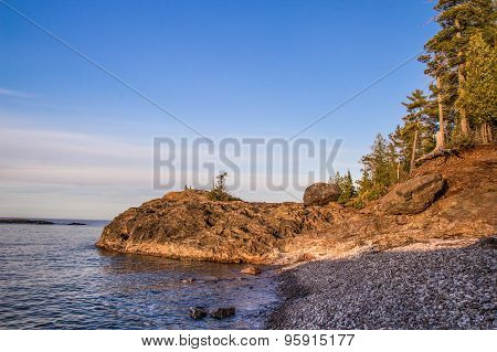 Wild Lake Superior Shore