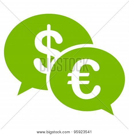 Transactions icon from BiColor Euro Banking Set