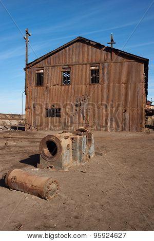 Humberstone Saltpeter Works