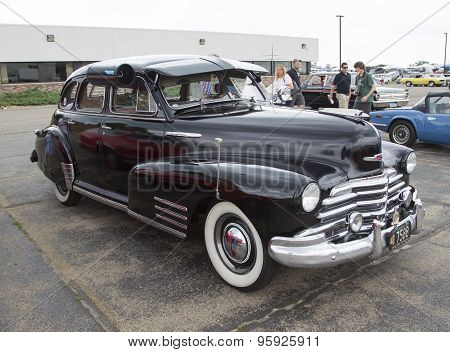 1947 Chevy Fleetmaster Car Side View