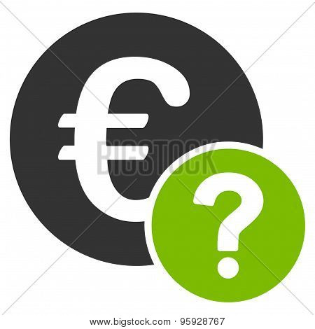 Euro status icon from Business Bicolor Set
