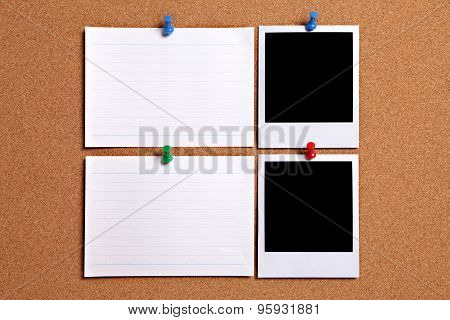 Blank Photos With Note Cards