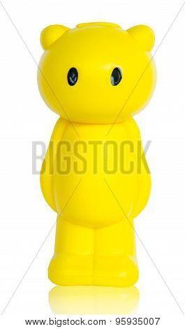 Yellow Bear Save Money Box.