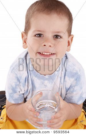 Boy And Water