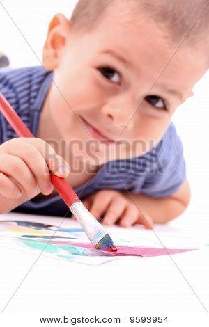 Junge Malerei