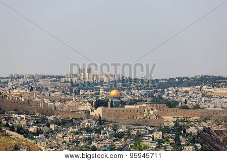 View Of Jerusalem, Capital Of The State Of Israel From Southern Side