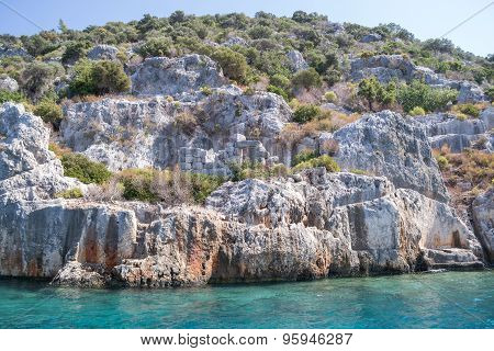 Kekova is an island in Turkey