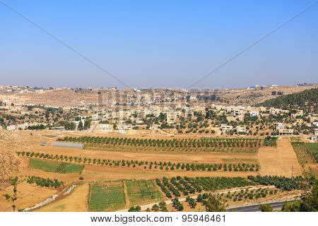 View On Palestinian Village Rabud