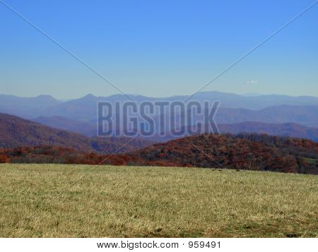 Mountain Layers - Max Patch