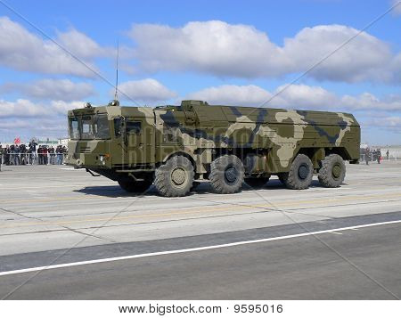 """Russian operative-tactical missile system """"Iskander"""""""