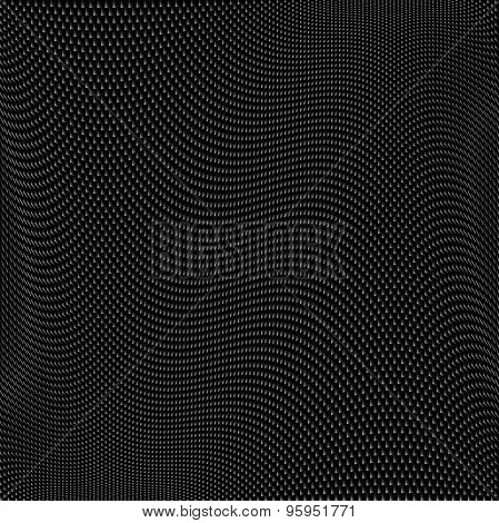 Small Textured Mesh 32Cm Twisted Half-tone Seamless Pattern