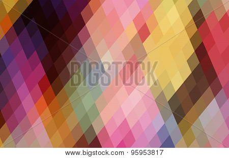 Multicoloured Triangle Background