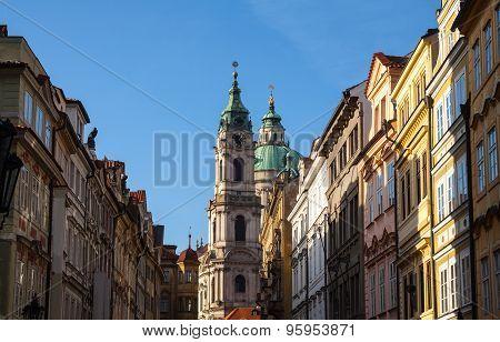 Street view of Prague.