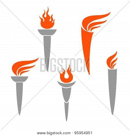 Torch. Set