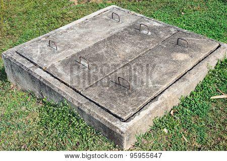 Cement Drain Box